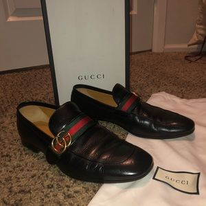 Gucci Marmot Men's Loafers size EU 9. US 10.